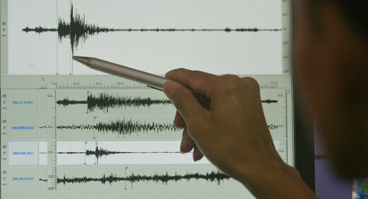 انفجار  گاز بر اثر زلزله در یکی از روستاهای میانه
