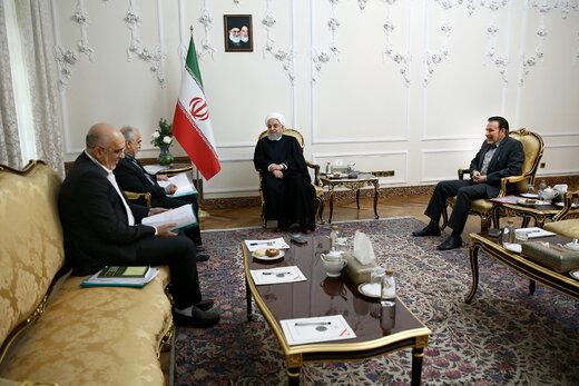 روحانی: مبارزه با فساد با جدیت در درون سازمان مالیاتی پیگیری شود