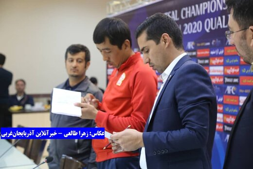 تصاویر | نشست خبری و هماهنگی تیمهای حاضر در مرحله نهایی فوتسال قهرمانی آسیا در ارومیه