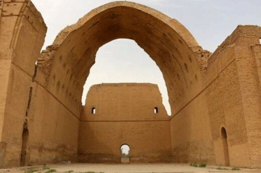 فیلم | برجستهترین یادگار دوران ساسانی به زمین فوتبال تبدیل شد