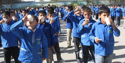 طرح توزیع رایگان «شیر» در مدارس این ۸ استان