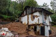 تصاویر | خسارتی که رانش زمین و سیلاب به روستاهای شفت زد