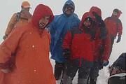 عکس   تصویر زیبای اولین برف امساله توچال