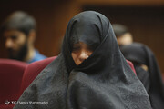 فیلم | قاضی به شبنم نعمتزاده: حجابتان را طوری رعایت کنید که صدایتان را بشنویم!
