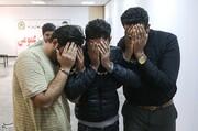 تصاویر | ۴ پلیس قلابی که در تهران دستگیر شدند