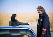 ساره بیات، حمید فرخنژاد و محمدرضا فروتن روی پوستر فیلم «سمفونی نهم»