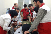 فیلم | عملیات عجیب احیای قلبی یک زائر در کربلا توسط امدادگر ایرانی