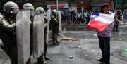 کشتار در شیلی؛ اعتراض به گرانی بلیت مترو تاکنون ۱۸ کشته داشته
