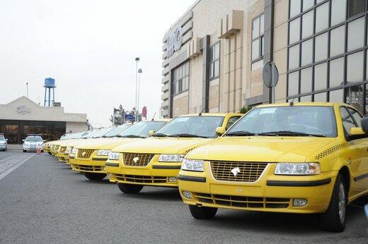 شهروندان پلاک تاکسیهای غیر فعال در روزهای بارانی را گزارش دهند