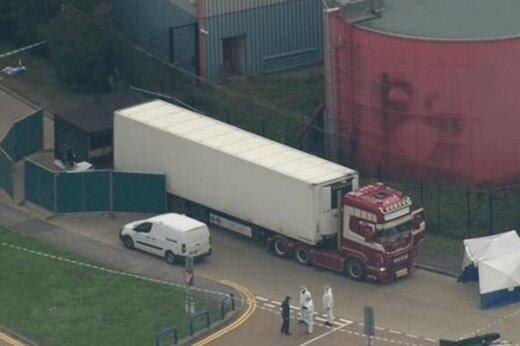 فیلم | کشف ۳۹ جسد در یک کامیون در لندن
