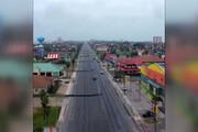 فیلم | تصاویر پهپادی از تگزاس پس از طوفان را ببینید