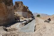 پایان مرمت و استحکام بخشی بستر پل تاریخی کشکان لرستان