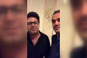 فیلم   حجت اشرف زاده در مهمانی خصوصی برای امام رضا خواند