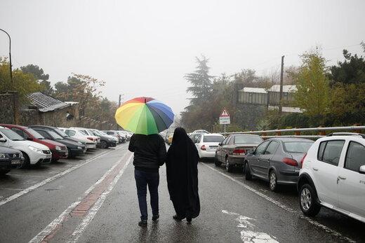 بارشها در استانهای مختلف شدیدتر میشود؛ سرما در تهران