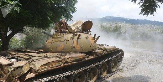 ارتش سوریه تسلیحات سنگین به جبهه جنوب ادلب ارسال کرد