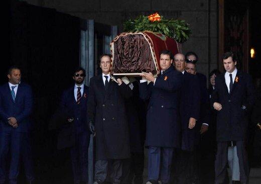 نبش قبر دیکتاتور اسپانیا