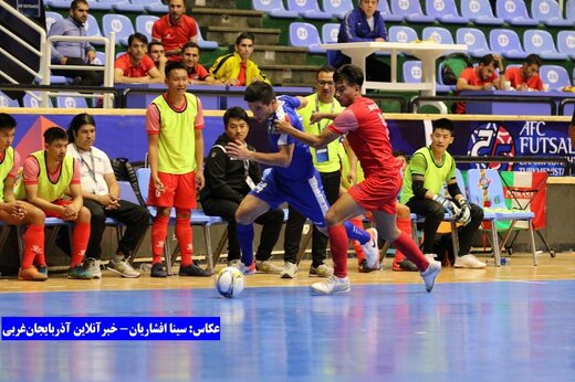 روز دوم مسابقات مقدماتی فوتسال قهرمانی آسیا در ارومیه