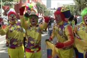 فیلم   گردهمایی بزرگ دلقکها در مکزیک
