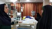 عیادت معاون رییسجمهور از اعظم طالقانی در بیمارستان +عکس