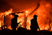 فیلم   آتشسوزی هولناک در لسآنجلس