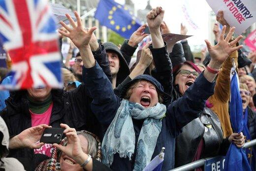 واکنش حامیان اتحادیه اروپا پس از تصویب اصلاحیه تاخیر برگزیت در مجلس عوام انگلیس