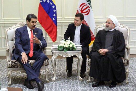 روحانی به مادورو:فشارهای اقتصادی آمریکا علیه ایران بینتیجه است