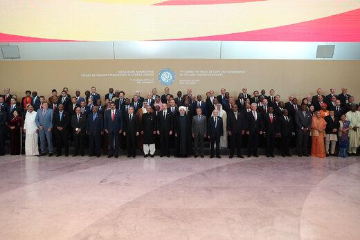 عکس یادگاری سران و اعضای کشورهای عضو جنبش عدم تعهد