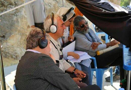بازدید نماینده اصلاحطلب از پشت صحنه «خروج» ابراهیم حاتمیکیا/عکس