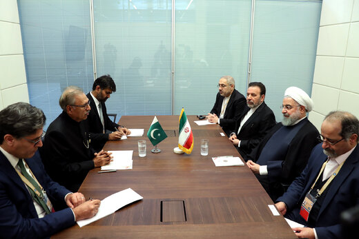 Iran, Pakistan determined to develop comprehensive ties: Rouhani