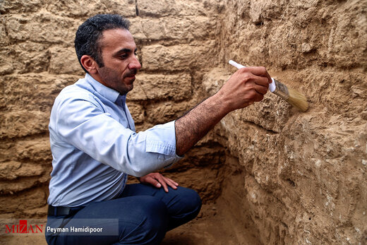کاوشهای باستان شناسی در تپه «ریوی» خراسان شمالی