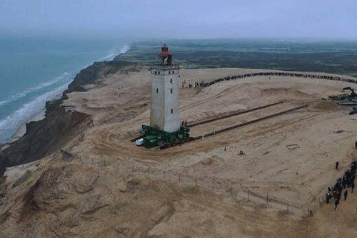 فیلم | عملیات دانمارکیها برای جابهجایی جاذبه گردشگری ۱۰۰۰ تنی