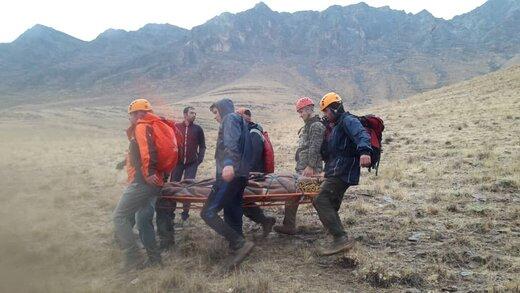 سقوط از ارتفاعات راستوند شازند جان یک کوهنورد را گرفت