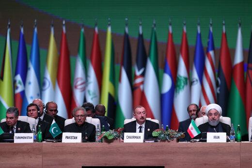 پیامهای چندگانه روحانی به ترامپ /حضور پررنگ ایران در اجلاس باکو