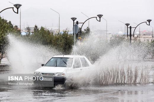 هشدار سازمان هواشناسی نسبت به تشدید بارشها/ اعلام اسامی استانهایی که بارش شدید خواهند داشت