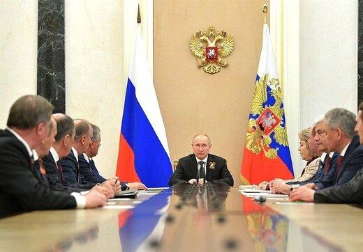 اوضاع سوریه در نشست شورای امنیت روسیه به ریاست پوتین بررسی شد