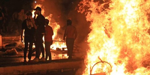 حکم تیر برای معترضان عراقی که خشونت میورزند و تخریب میکنند