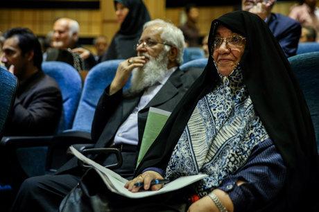 عیادت اعضای فراکسیون زنان مجلس از اعظم طالقانی