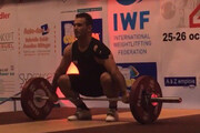 مدال طلا برای سهراب مرادی در وزنهبرداری قهرمانی غرب آسیا