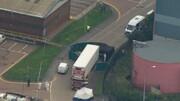 کشف کامیون حامل مهاجران غیرقانونیِ به مقصد انگلیس