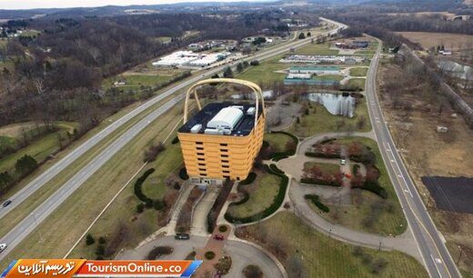 تبدیل ساختمان سبد حصیری معروف به هتل لوکس