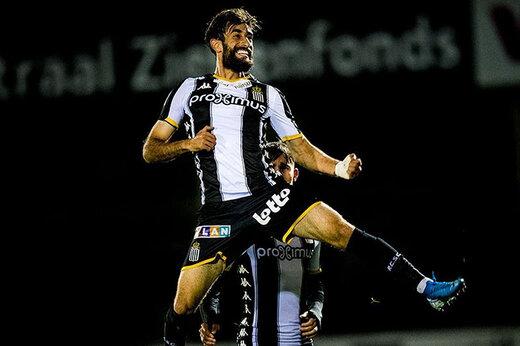 حضور قلیزاده در ترکیب تیم منتخب هفته لیگ بلژیک