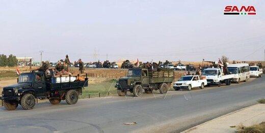 تسلط ارتش سوریه بر بخش وسیعی از بزرگراه حلب-الحسکه
