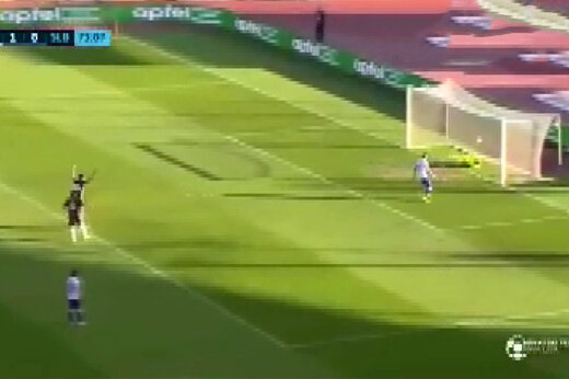 فیلم | عجیب ترین گل فوتبال دنیا در لیگ کرواسی!