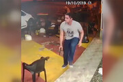 فیلم | پلیس وظیفه شناس در خارج از شیفتش سارقان مسلح را فراری داد