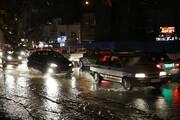 آبگرفتگی شدید و مسدودشدن معابر در پایتخت