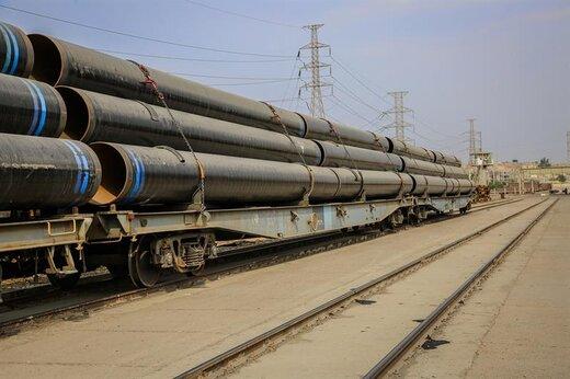 افزایش ۴۳ درصدی حمل و نقل لوله سازی اهواز