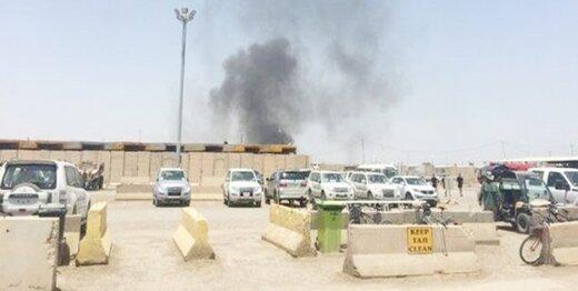 ادعای العربیه:سه موشک به پایگاه نظامیان آمریکایی در بغداد اصابت کرد