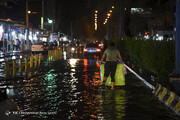 تهران و البرز به صورت پراکنده بارانی است؛ وزش باد در انتظار پایتخت