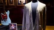 فروش ژاکت سوخته و مستعمل خواننده مشهور به قیمت ۳۰۰ هزار دلار!