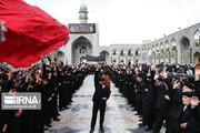 تصاویر   عزاداری روز شهادت امام رضا علیهالسلام در حرم رضوی